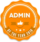Admin of the year 2018