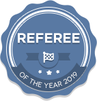 Referee of the year 2019