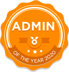 Admin of the year 2020
