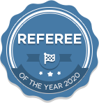Referee of the year 2020